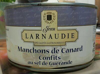 Manchons de canard confits au sel de Guérande