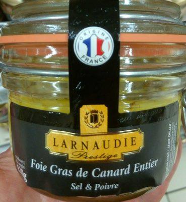 Foie gras de canard entier sel & poivre