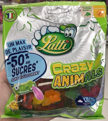 Crazy animals (-50 % de sucres)