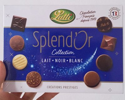 Splend'Or Lait Noir Blanc