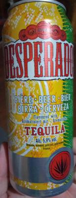 Desperados tequila