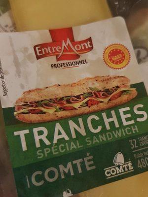 Comté Traanches AOP special sandwich 480g