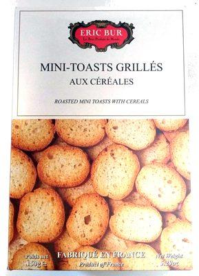 Mini-toasts grillés aux céréales