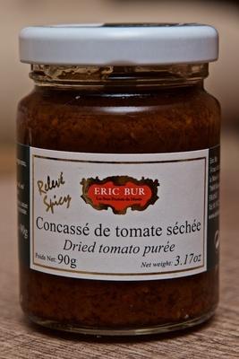 Concassé de tomate séchée relevé