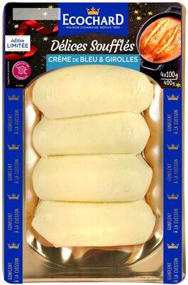 Délices Soufflés Edition Limitée Crème de Bleu & Girolles