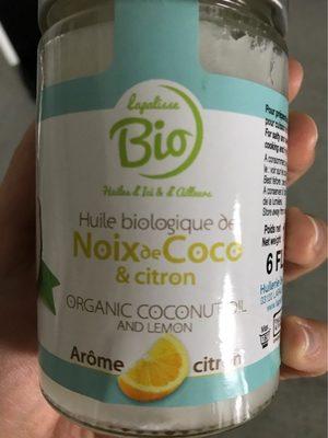 Huile de coco et citron