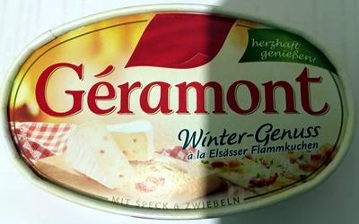 Géramont Winter-Genuss ala Elsässer Flammkuchen