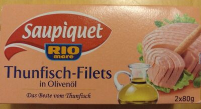 Saupiquet Thunfischfilets In Olivenöl 2 X 80G