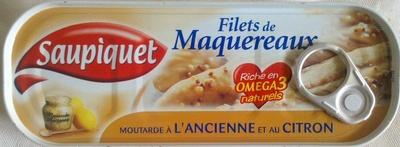 Filets de Maquereaux (Moutarde à l'Ancienne et au Citron