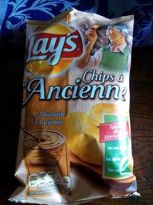 Chips à l'Ancienne saveur Moutarde à l'Ancienne