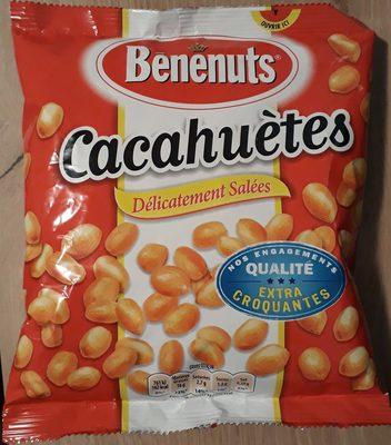 Cacahuètes délicatement salées extra croquantes