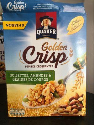 Golden Crisp Noisettes, amandes et graines de courge