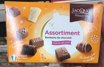 Assortiments de Bonbons de Chocolat Sans Alcool