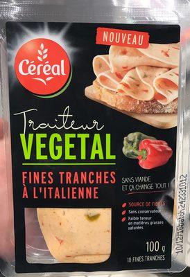 Traiteur Végétal Fines Tranches à l'Italienne
