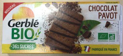 Chocolat pavot