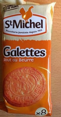 Galettes Tout au Beurre