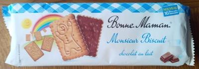Monsieur Biscuit chocolat au lait