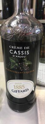 1L Creme Cassis Giffard 16 °