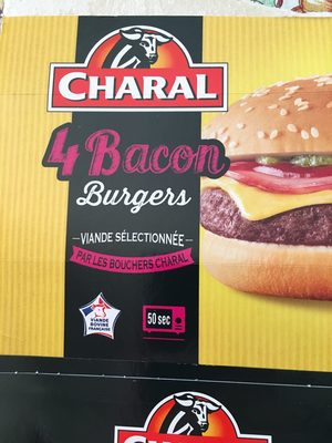 4 Bacon Burgers