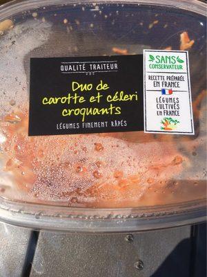 Duo carotte/celeri