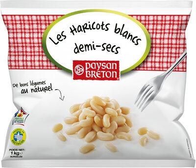 Haricots blancs demi secs