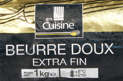 Beurre doux extra fin