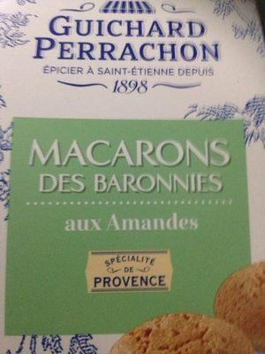 Macarons des Baronnies aux amandes