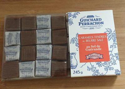 Caramels au beurre salé de Guérande Guichard Perrachon