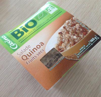 Salade Quinoa fruits secs Bio
