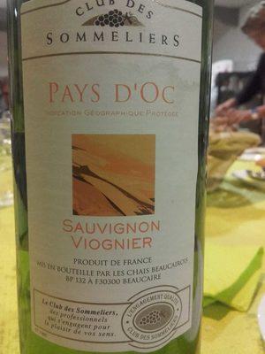 IGP Pays d'Oc Sauvignon viognier