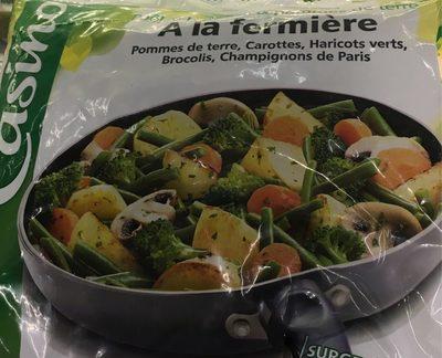 Poêlée legumes & pommes de terre - Fermière - surgelée