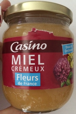 Miel de Fleurs de France Crémeux