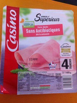 Jambon Supérieur - Porcs élevés sans antibiotiques dès la naissance