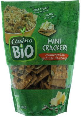 Mini Crackers Emmental Et Graines De Courge