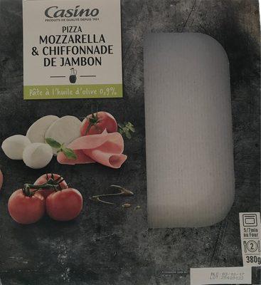 Pizza jambon mozzarella