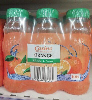 Orange à l'eau de source