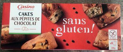 Cake aux pépites de chocolat sans gluten