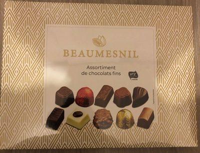 Assortiment de chocolats fins