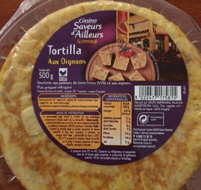 Tortilla oignons
