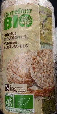 Galettes riz complet