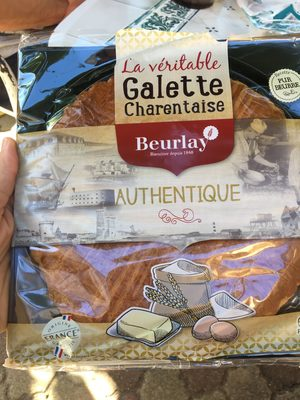 Galette charentaise Beurlay Pur beurre