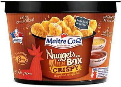 Nuggets en box Crispy chapelure cornflakes