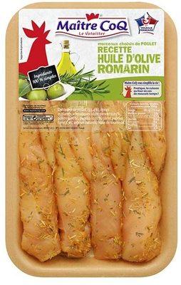Aiguillettes recette huile d'olive romarin