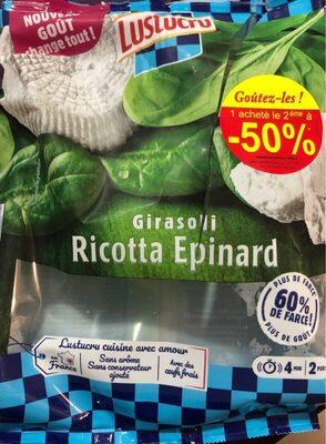 Girasoli Ricotta Epinard