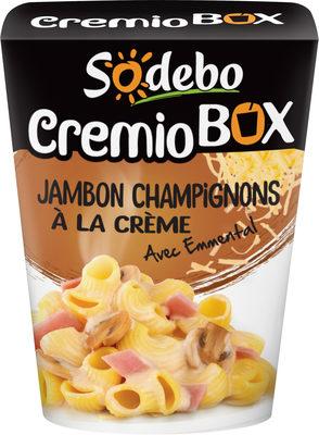 CremioBox - Jambon Champignons à la crème
