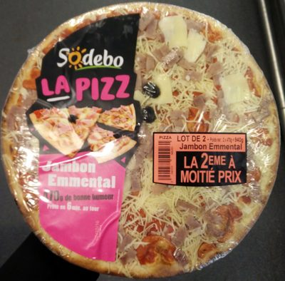 La Pizz Jambon Emmental