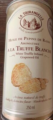 Huile de pepins de raisin aromatisée a la truffe blanche