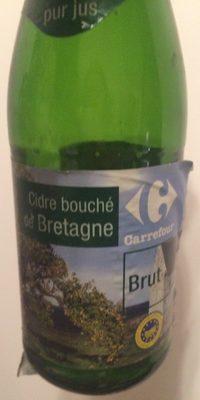 Cidre bouché de Bretagne