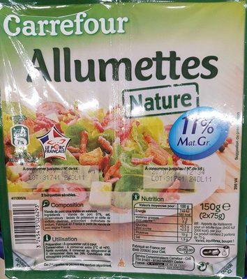 Allumettes nature 11% mat grasse
