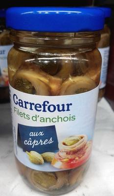 Filets d'anchois aux câpres
